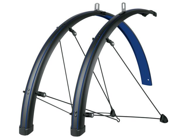 SKS Bluemels Stingrey 45 Zestaw błotników rowerowych niebieski/czarny